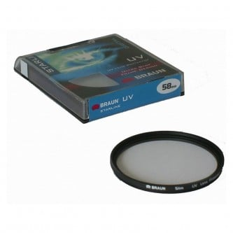 Braun Starline UV filter 67 mm