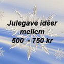 500 - 750 kr
