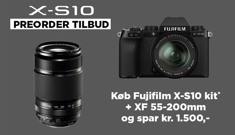 Fujifilm X-S10 Pre-Order