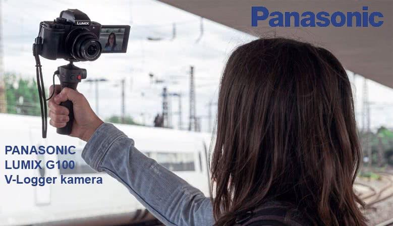 Panasonic Lumix G100 V-logger