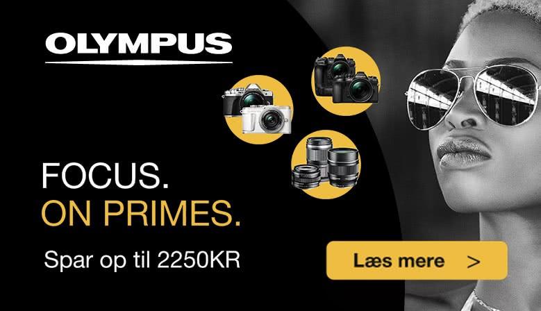 Olympus Focus on Primes