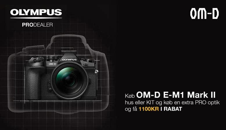 Olympus Pro E-M1 kampagne. Spar kr. 1.100,-