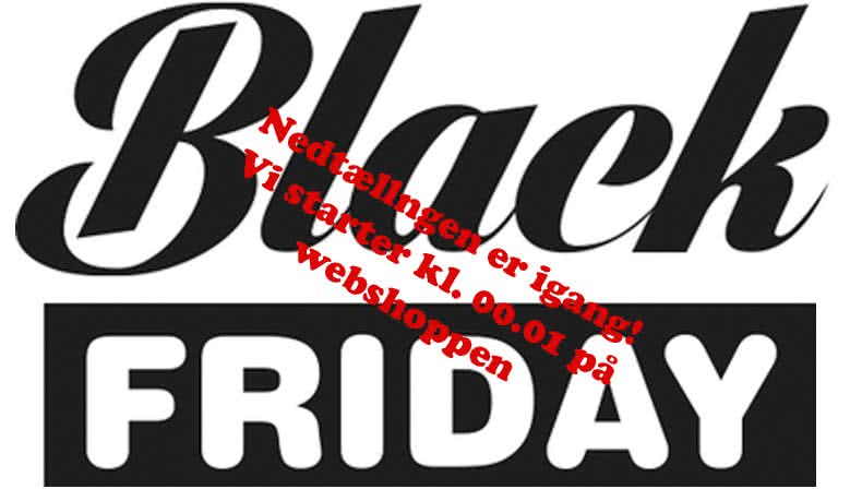 Black Friday hos FOTO/C