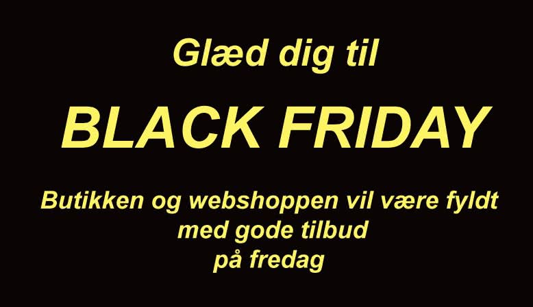 Black Friday i Foto/C