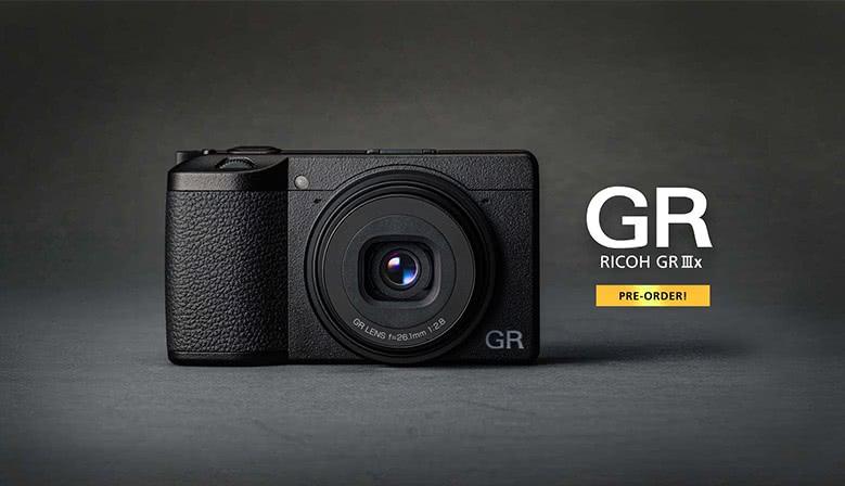 Bestil den nye GR IIIx allerede nu.