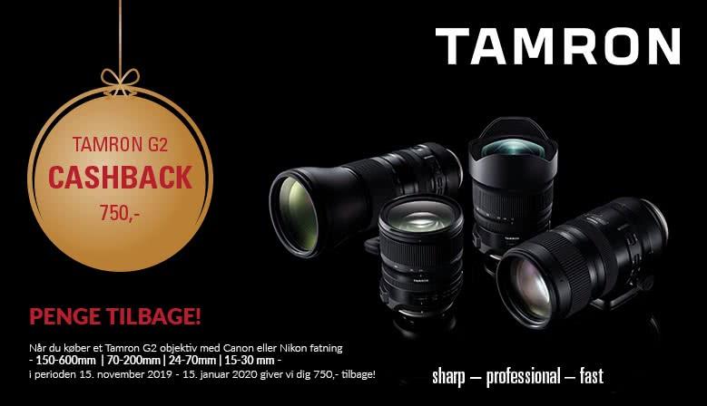 Tamron G2 Cashback kampagne
