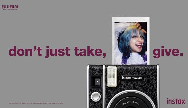 Nu med indbygget selfie-mode