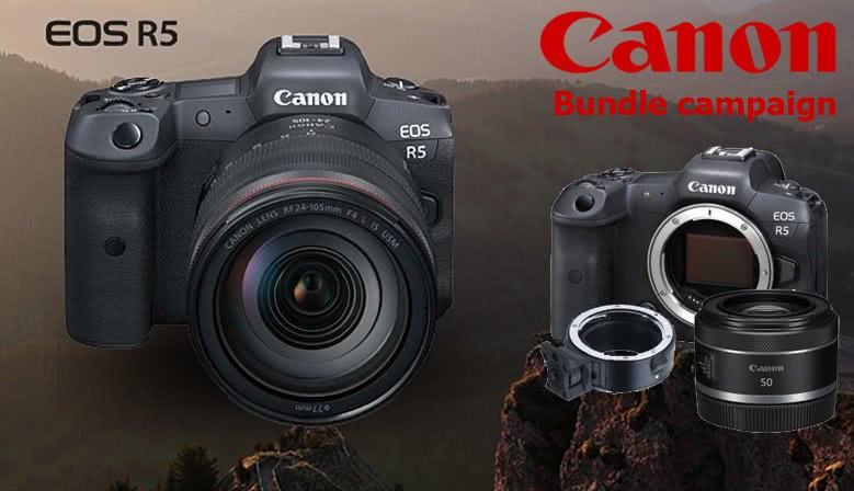 Canon EOS R5 inkl. RF 85mm og EF adapter