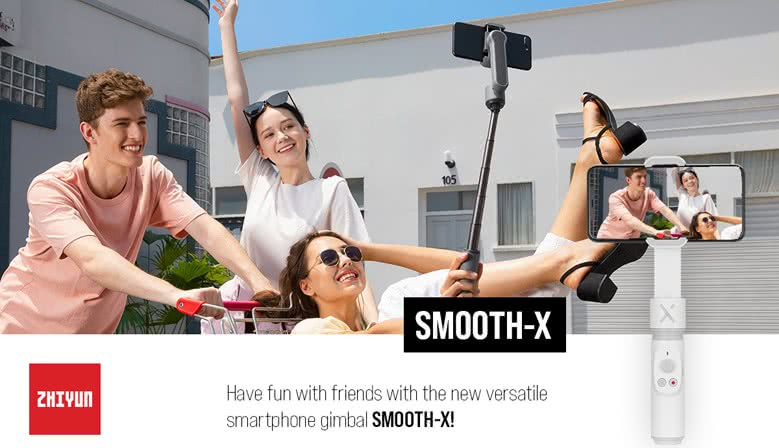 Zhiyun Smooth-X Intro kampagne