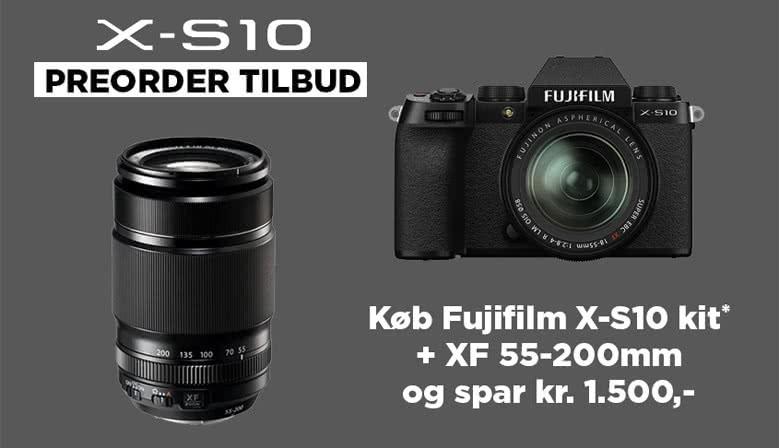 Fujifilm X-S10 Pre-Order kampagne