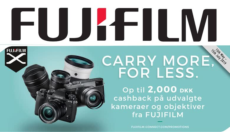 Fujifilm sommer kampagne 2019