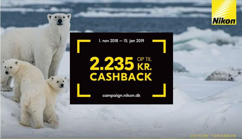 Nikon Cashback kampagne